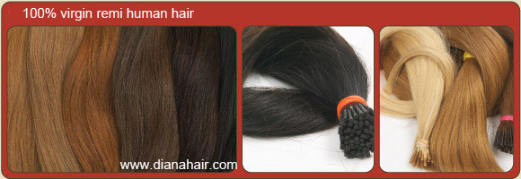 100% remy pre bond hair extension