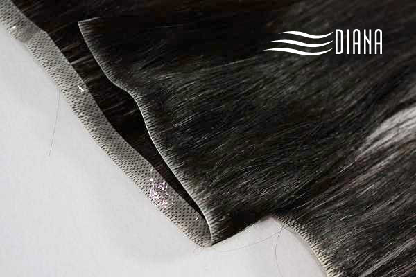 Top quality remy human hair skin weft extension
