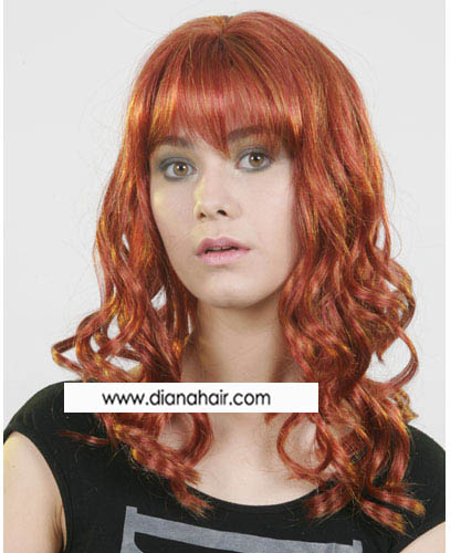 035 Synthetic wig