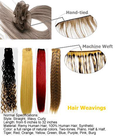 100% Remy Hand Tied Weft